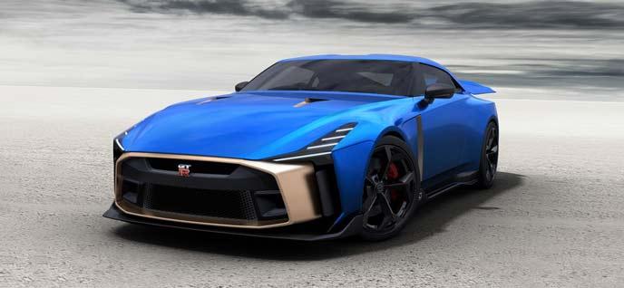 GT-Rイタルデザインの市販モデルのエクステリア