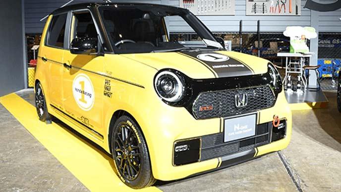 東京オートサロン2020で展示されたN-ONEカフェレーサーコンセプト