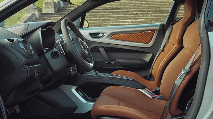A110リネージ GTの内装