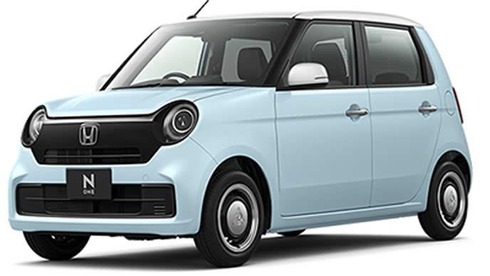 サーフブルー×ホワイトの新型N-ONE