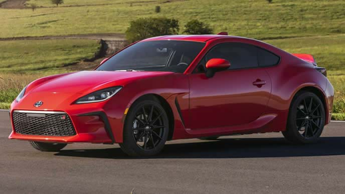 北米トヨタで発表した新型GR86のエクステリア