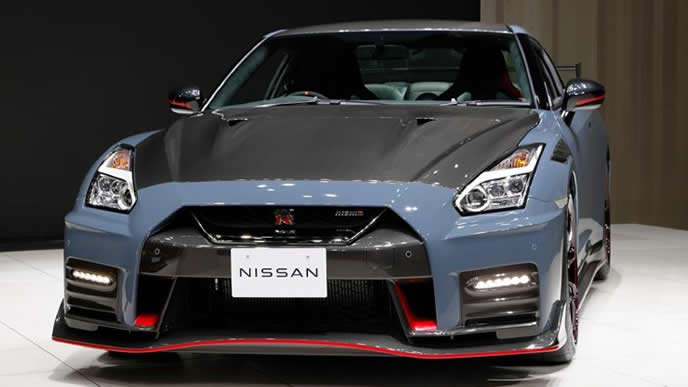 2022年モデル新型GT-Rのエクステリア