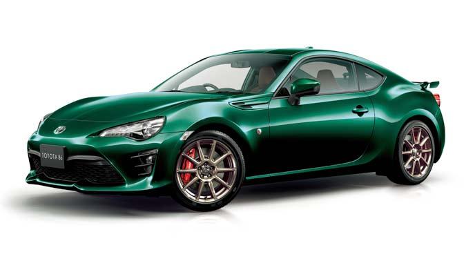 """トヨタ86特別仕様車「GT""""British Green Limited""""」のエクステリア"""