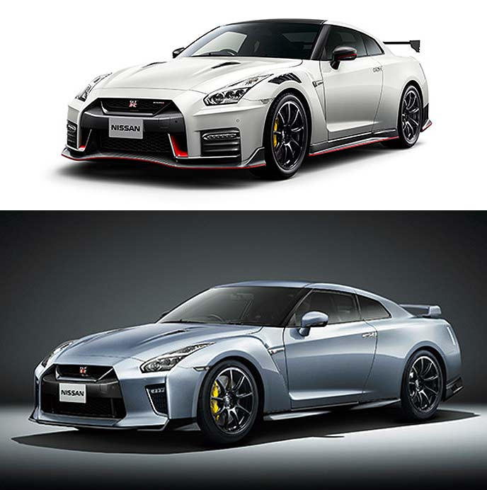 「NISSAN GT-R NISMO」 と「NISSAN GT-R Track edition engineered by NISMO」の2020年モデル