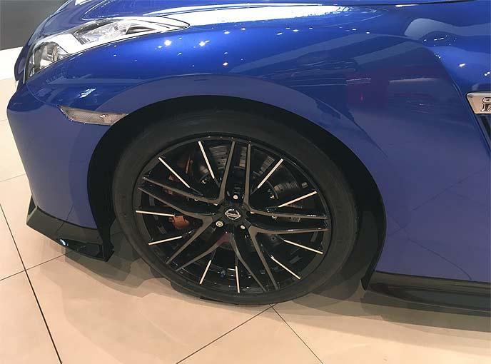 新型GT-R 2020年モデルのホイール
