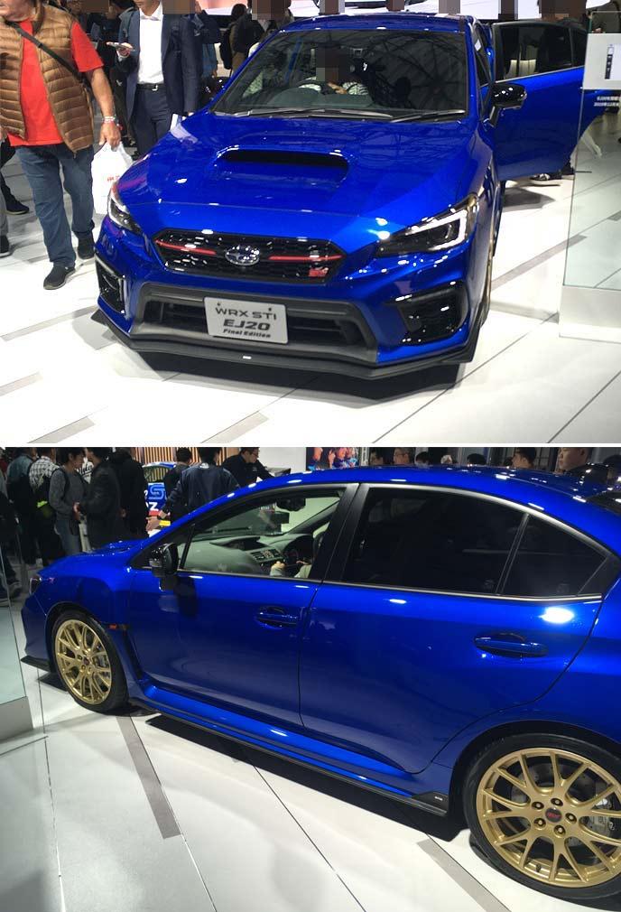 WRX STI 特別仕様車「EJ20 Final Edition」プロトタイプ