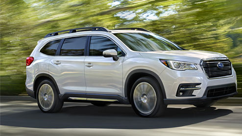 スバルの新型SUVアセントが北米市場で発売 アウトドアに最適だが日本導入は未定