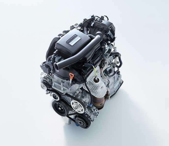 新型バモスのエンジン