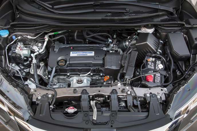 新型ヴェゼルに搭載されているエンジン