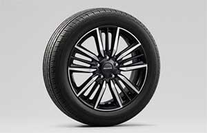 「Modulo X Honda SENSING」の純正17インチアルミホイール