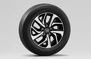 「SPADA・Cool Spirit Honda SENSING」4WD車と「SPADA・Honda SENSING」の純正16インチアルミホイール