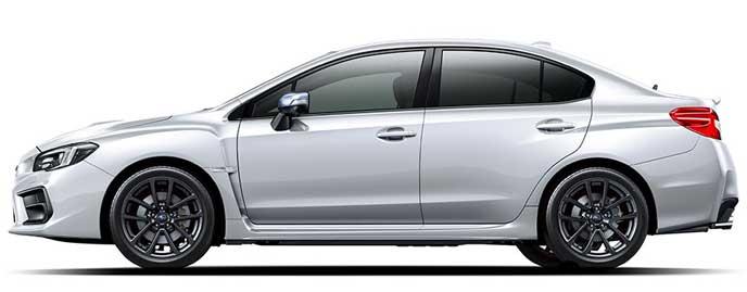 クリスタルホワイト・パールの新型WRX S4