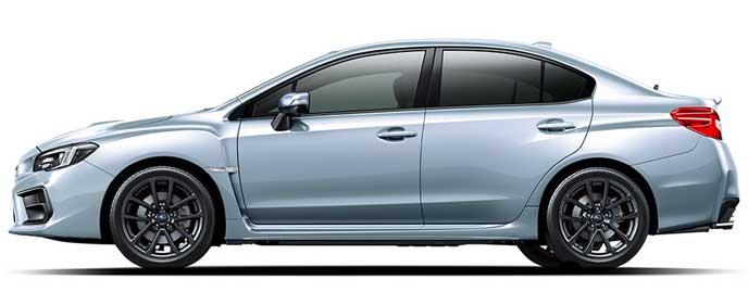 アイスシルバー・メタリックの新型WRX S4