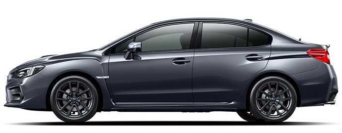 ダークグレー・メタリックの新型WRX S4