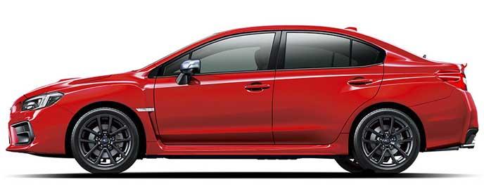 ピュアレッドの新型WRX S4