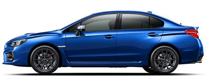 WRブルー・パールの新型WRX S4