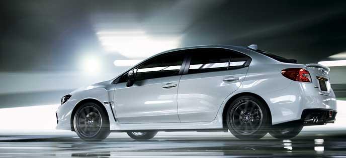 新型WRX S4のエクステリア