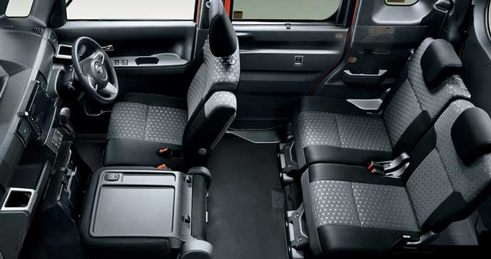 ウェイク Gターボレジャーエディション SA3 4WDの内装