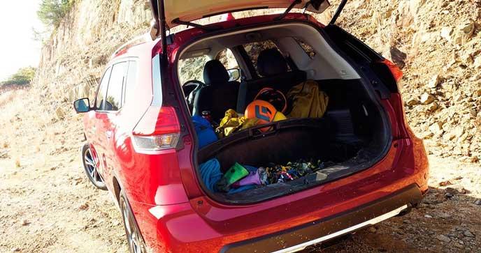 エクストレイル 20X 4WD 2列シートの内装