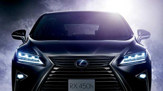 レクサス RX 450hのエクステリア