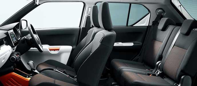 スズキ イグニス ハイブリッド MG 2WDの内装