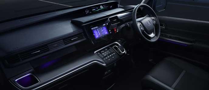 ステップワゴン スパーダ ハイブリッドG EXホンダセンシングの内装