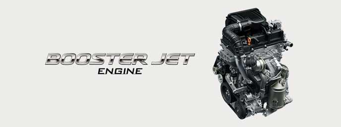 新型クロスビーのブースタージェットエンジン