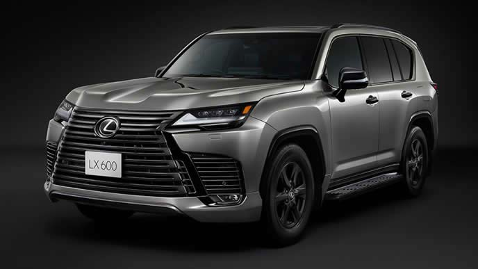 新型LX600オフロードのエクステリア