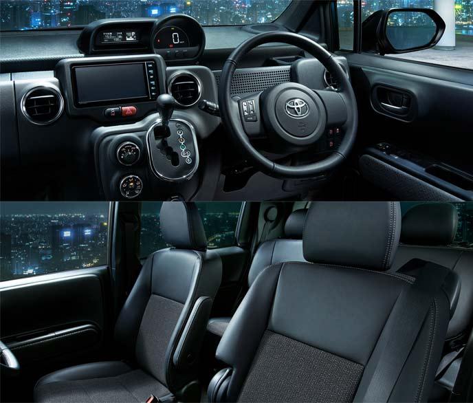 """スぺイド特別仕様車「F""""Noble collection""""の内装カラーはシックなブラックを採用"""