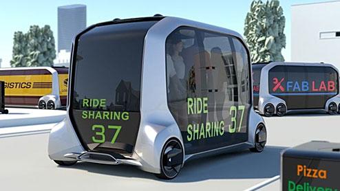 トヨタの次世代EV「e-Palette Concept」がCES2018に出展