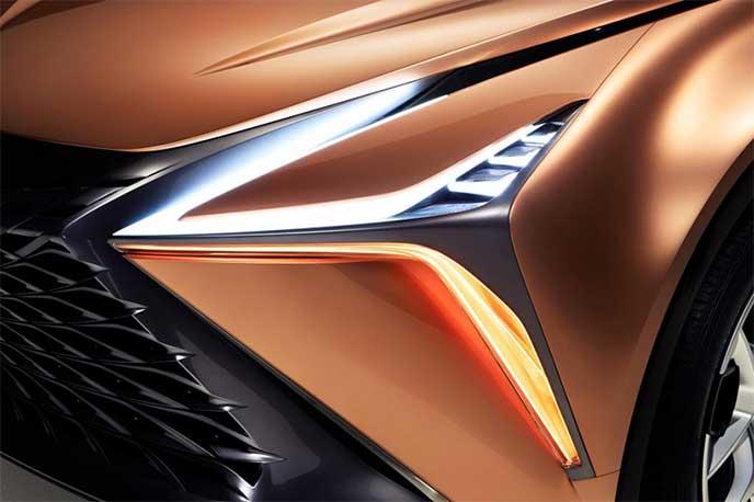 Lexus LF-1 Limitlessのヘッドライト