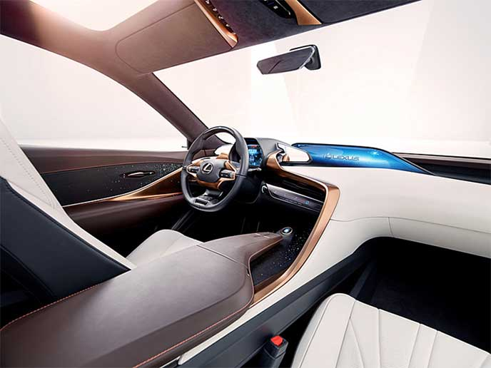 Lexus LF-1 Limitlessの内装