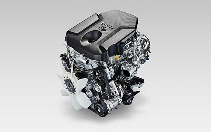 ディーゼルエンジン「1GD-FTV」