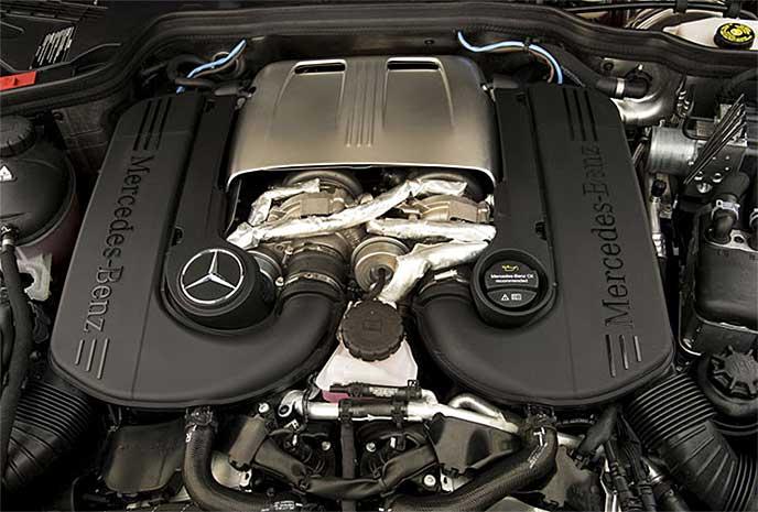 Gクラスのエンジン
