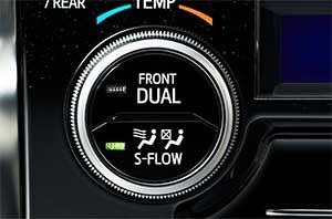 アルファードに搭載されている「S-FLOW」システム