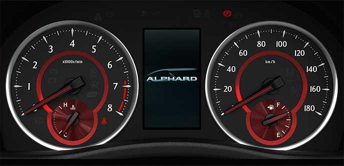 ガソリン車用(エアロ専用)のオプティトロンメーター