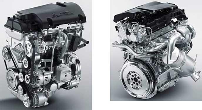 デリカD5が搭載しているディーゼルエンジン「4N14」