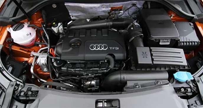 モデルチェンジ後に搭載されるアウディQ3のエンジン