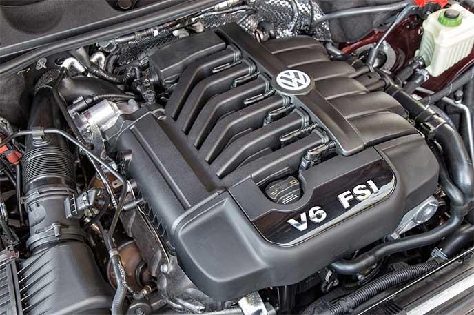 モデルチェンジで搭載されるトゥアレグのエンジン