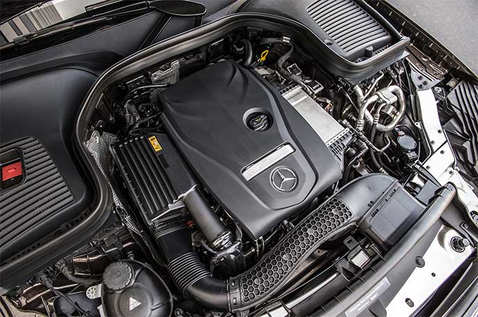 ベンツGLBに搭載されるエンジン