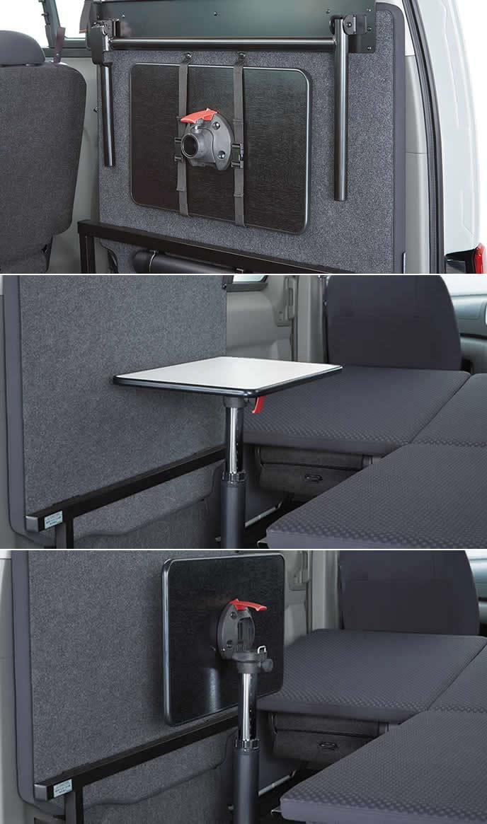 NV200バネットのオプションテーブル