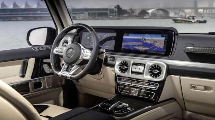 AMG G63シガレットエディションの内装