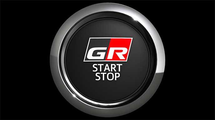 ヴィッツ「GR SPORT」「GR SPORT GR」の専用スタートスイッチ