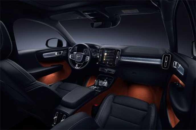 ボルボ「XC40」の内装