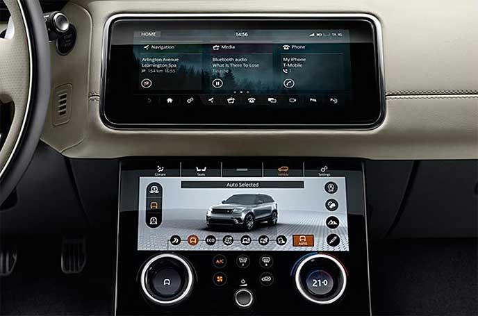 ヴェラールに搭載されている「Touch Pro Duo」