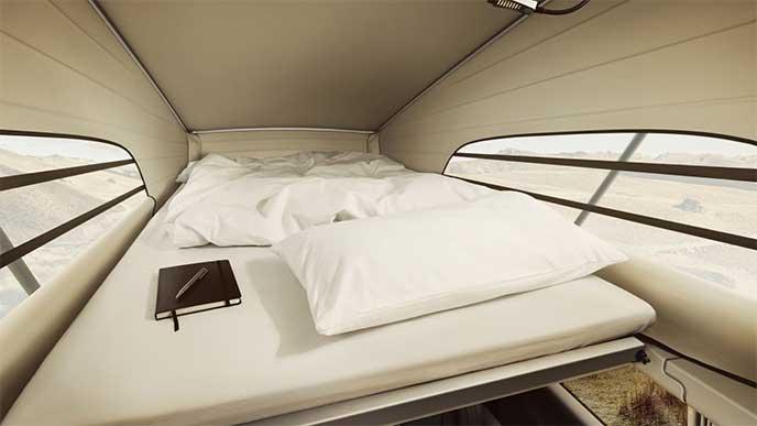 ベンツ マルコポーロ Horizonのベッドルーム