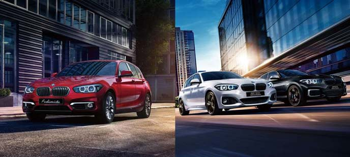 BMW1シリーズの特別仕様車Mスポーツエディションシャドウ・ファッショニスタ・エディションシャドウ