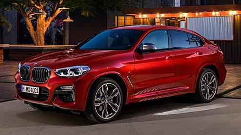 BMW X4がモデルチェンジでクーペスタイルに 日本でディーゼルエンジン追加の可能性も