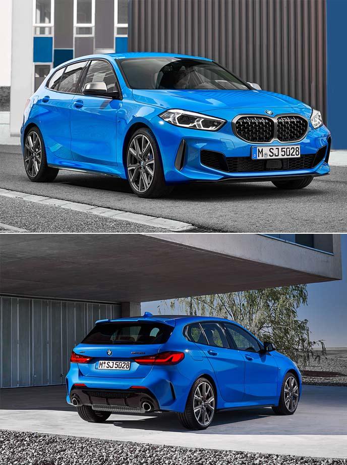 BMW 1シリーズのエクステリア