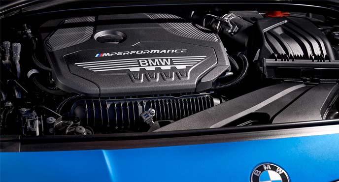 新型「1シリーズ」のエンジン